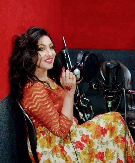 Bappi Lahiri records song with Rituparna