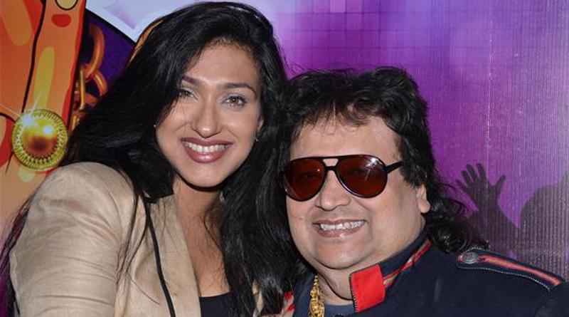 Rituparna Sengupta records her first Song for Bappi Lahiri
