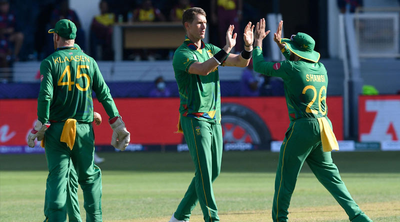 T-20 World Cup 2021: South Africa beats West Indies | Sangbad Pratidin
