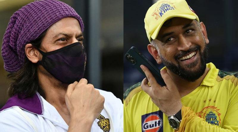 IPL: Shah Rukh Khan said he would sell his pyjama to buy MS Dhoni | Sangbad Pratidin