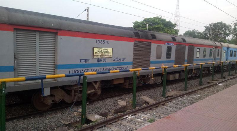 Indian Railways allows advertisement on seat cover of Shatabdi express | Sangbad Pratidin
