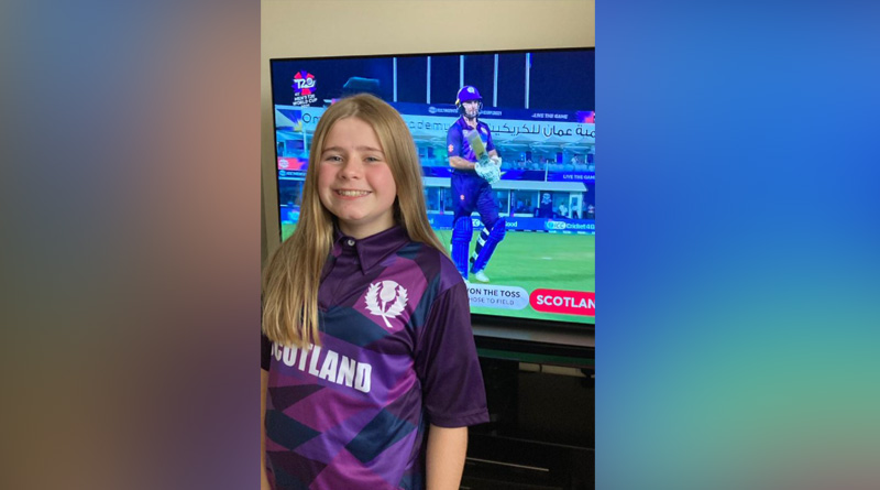 Scotland's T20 WC jersey has been designed by 12 year-old Rebecca Downie | Sangbad Pratidin
