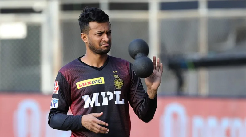 IPL 2021: Shakib Al-Hasan to miss all the playoff games | Sangbad Pratidin