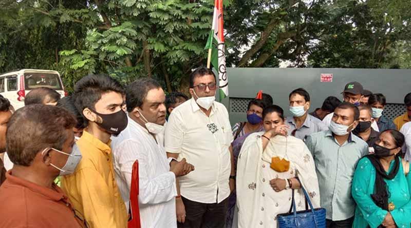TMC In Tripura: TMC leader Shantanu Saha allegedly beaten in Tripura । Sangbad Pratidin