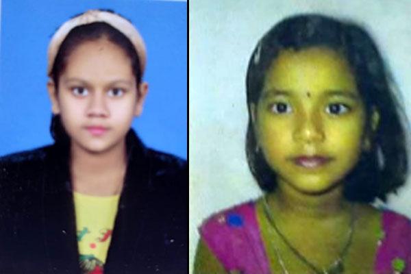 Shreya and Anushka