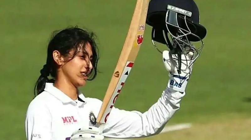 Smriti Mandhana 1st Indian Woman To Hit Test Ton In Australia | Sangbad Pratidin