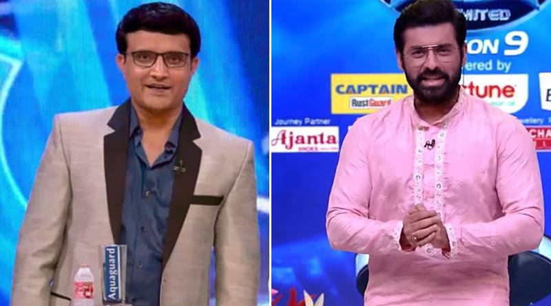 Ankush Hazra replaced Sourav Ganguly in Dadagari as Host | Sangbad Pratidin