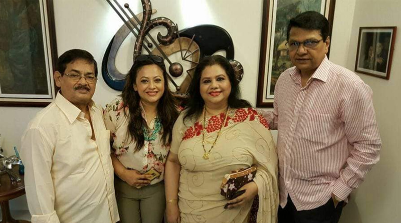 Sreelekha Mitra shares memory with her father on facebook | Sangbad Pratidin