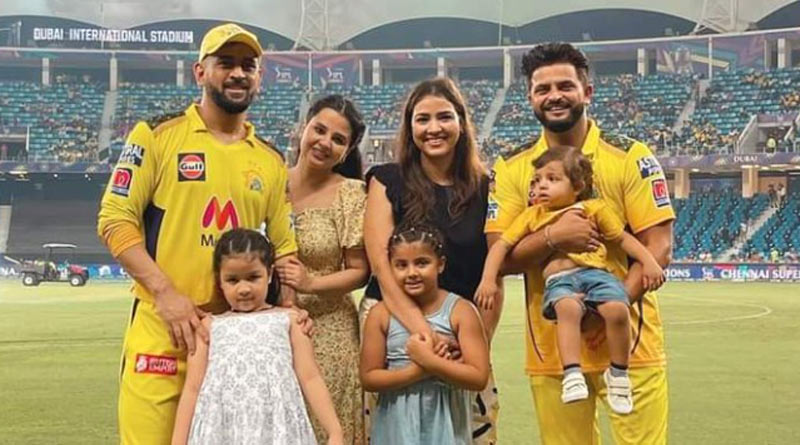 MS Dhoni and Sakshi all set to become parents in 2022 | Sangbad Pratidin