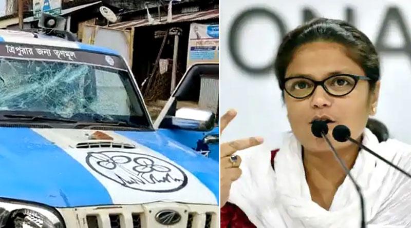 Trinamool MP Sushmita Dev Attacked In Tripura, Party Blames BJP | Sangbad Pratidin