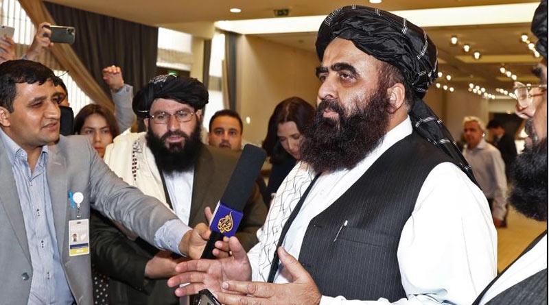 US, Taliban hold first talks since Afghanistan withdrawal। Sangbad Pratidin
