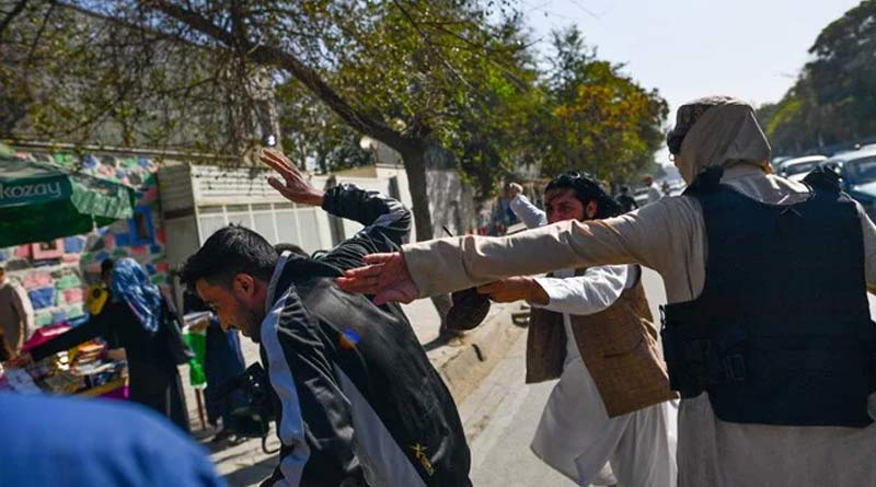 Taliban Attack Journalists Covering Kabul Women's Rights Protest | Sangbad Pratidin
