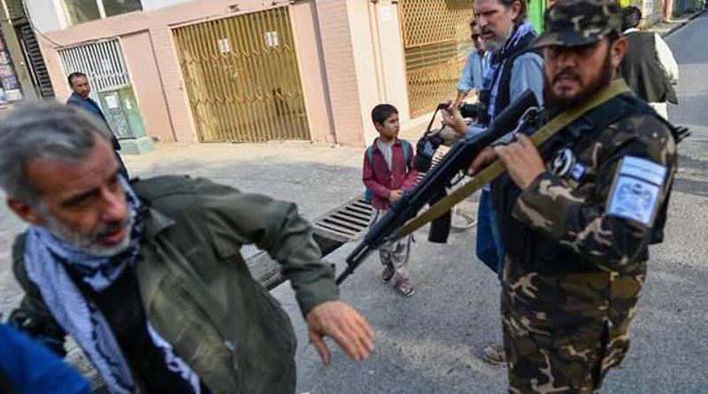 Taliban open fire to push back protesting women in Kabul। Sangbad Pratidin