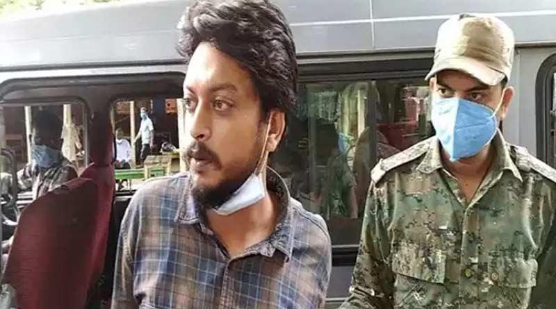 Former student of Visva Bharati University arrested in sedition case । Sangbad Pratidin