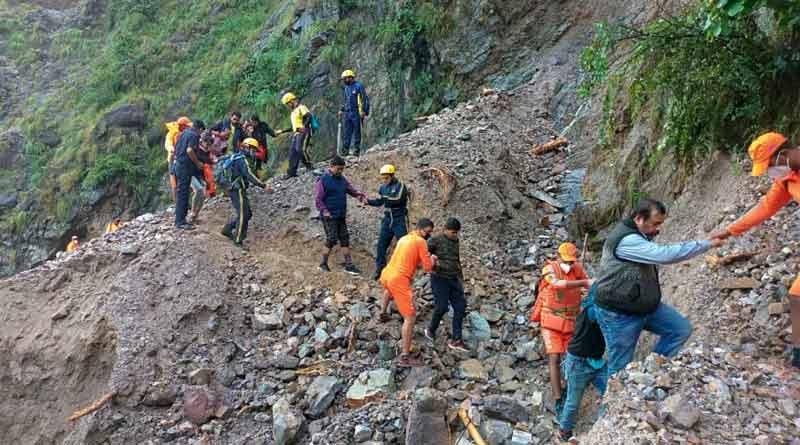 Ten from West Bengal die in Uttarakhand disaster । Sangbad Pratidin
