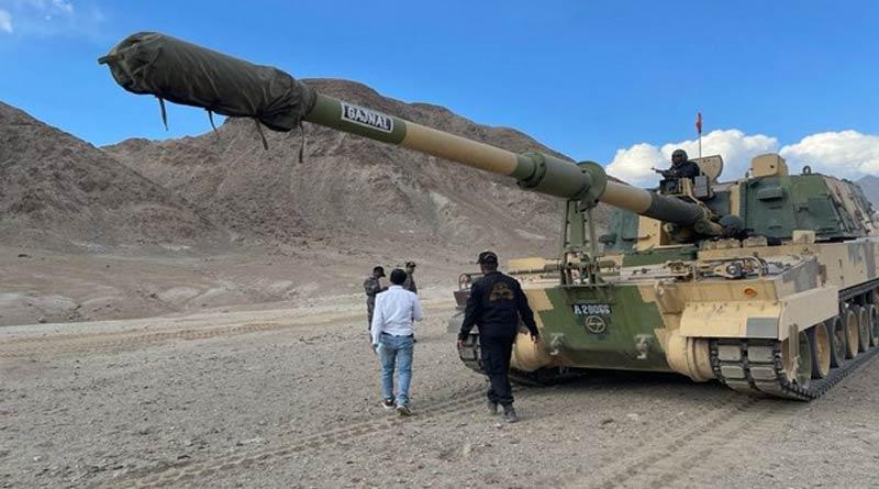 Indian Army deploys K9 Vajra in Ladakh | Sangbad Pratidin