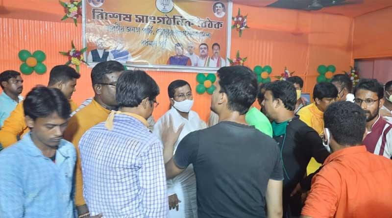 factional feud rocks BJP at Bardhaman | Sangbad Pratidin