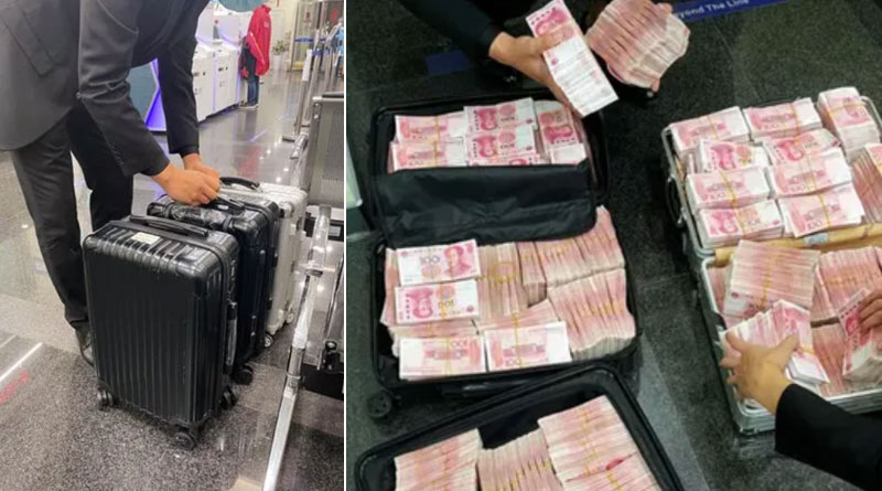 Millionaire withdraws Rs 5.8 crore from bank, orders staff to count it after being asked to wear face mask | Sangbad Pratidin