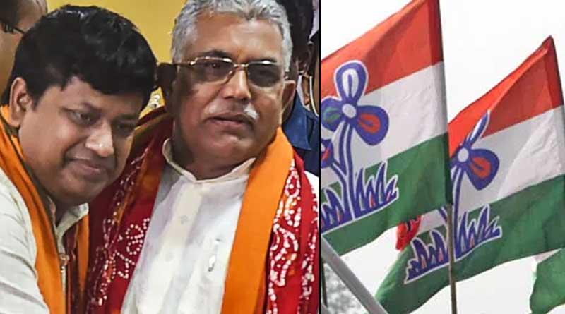 Dilip Ghosh, Sukanta Majumder meet BSF officials ahead of bypolls | Sangbad Pratidin