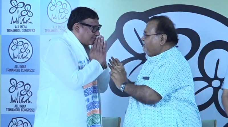 BJP MLA Krishna Kalyani joins TMC | Sangbad Pratidin