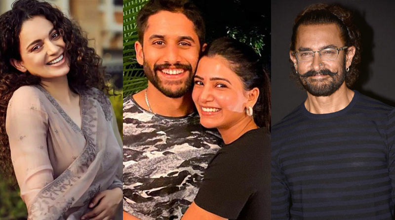 Kangana Ranaut blames Aamir Khan for Samantha Prabhu-Naga Chaitanya divorce | Sangbad Pratidin