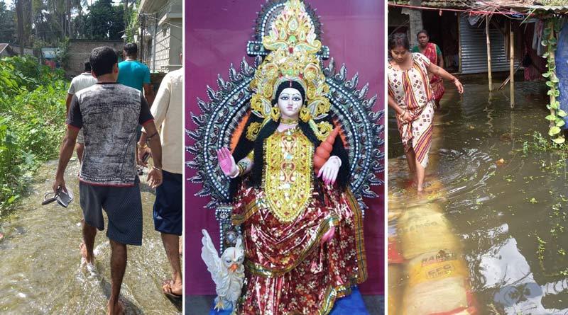 Yuva TMC leaders helped priests to reach to their destiny on Lakhmi Puja | Sangbad Pratidin