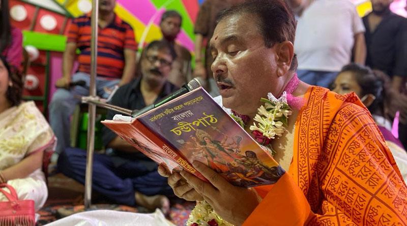 TMC MLA Madan Mitra recites Chandi | Sangbad Pratidin