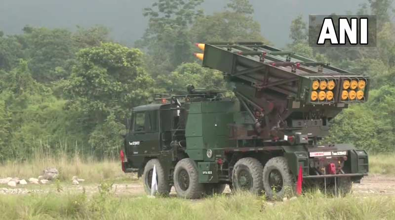 Indian Army displays Pinaka, Smerch multiple rocket launcher systems in Assam | Sangbad Pratidin