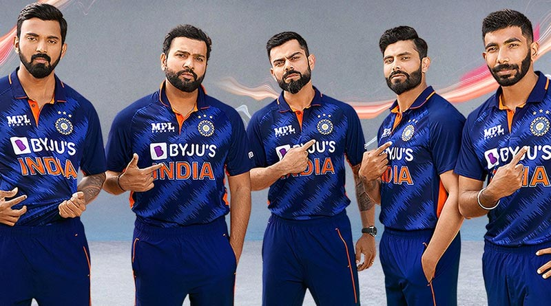 This is Team India's new jersey for T20 World Cup 2021 | Sangbad Pratidin
